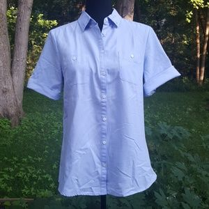 Mamgo   1/4 sleeve button down